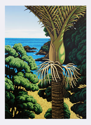 Lottin Point Nikau - Screen Print