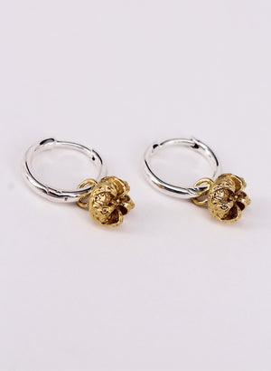 Manuka Hoops - Sterling Silver & Gold Plating