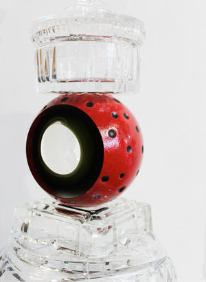 Abstract Candlestick - Red