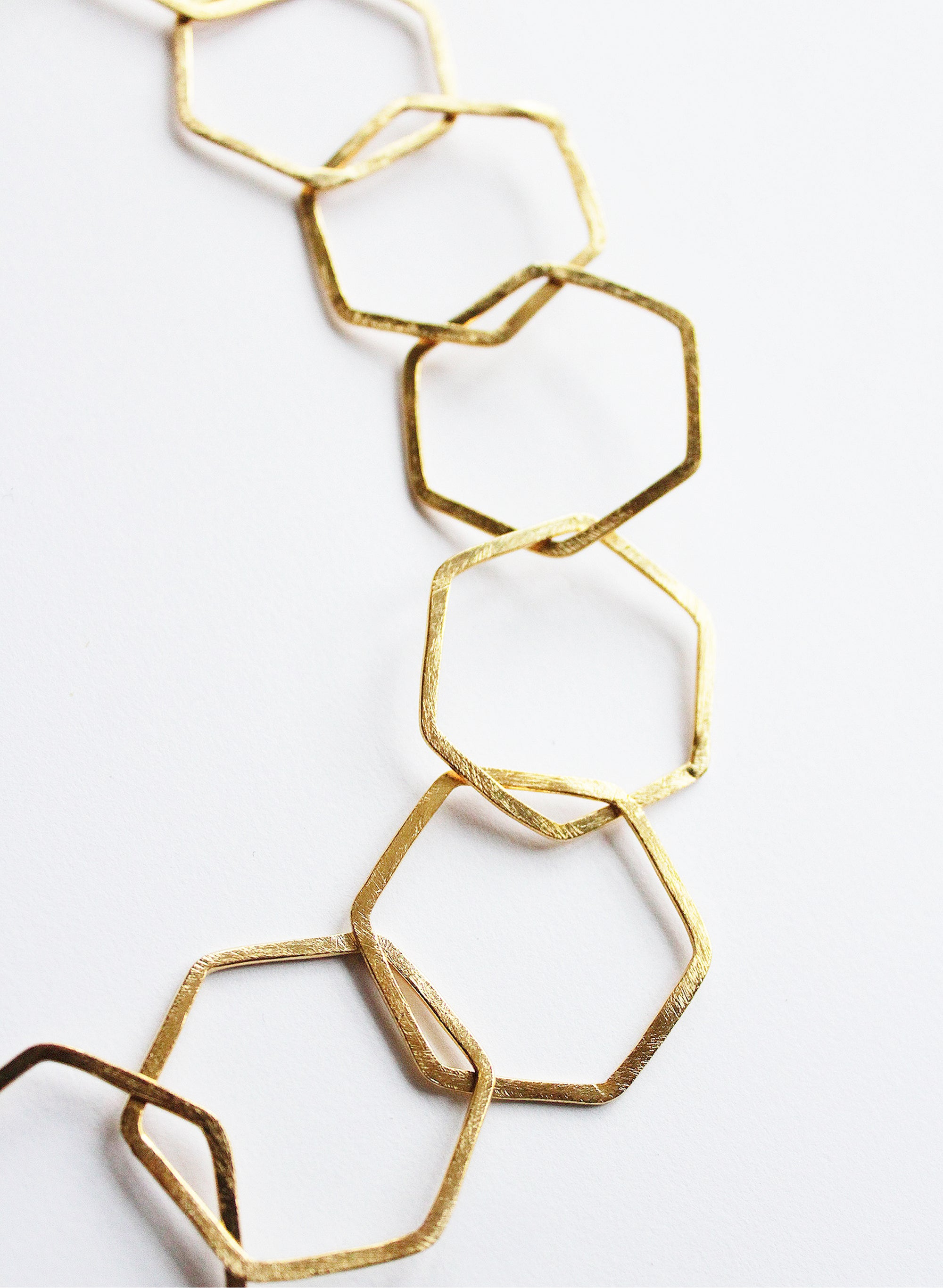 Manuka Honey Necklace - Gold