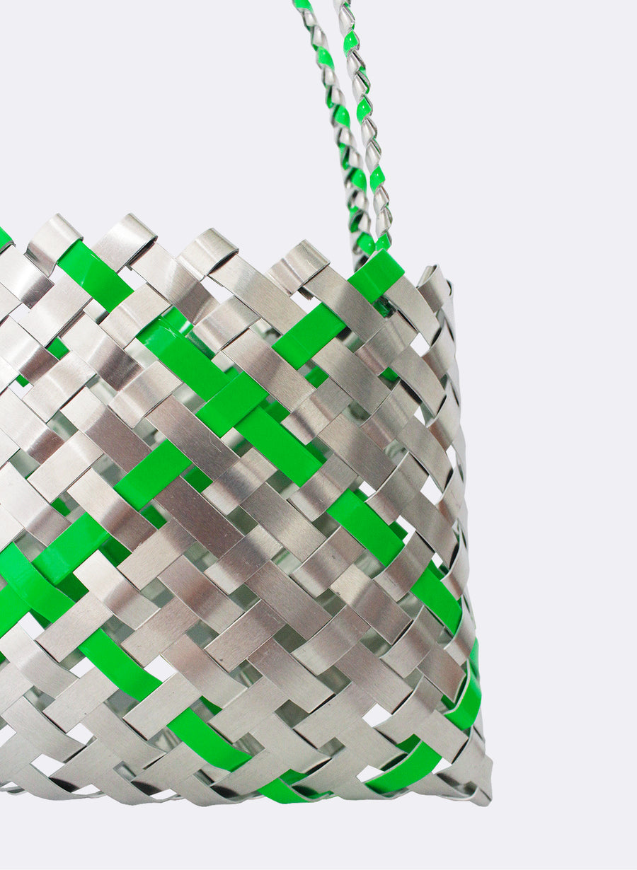Aluminium And Green Kete (12 End)