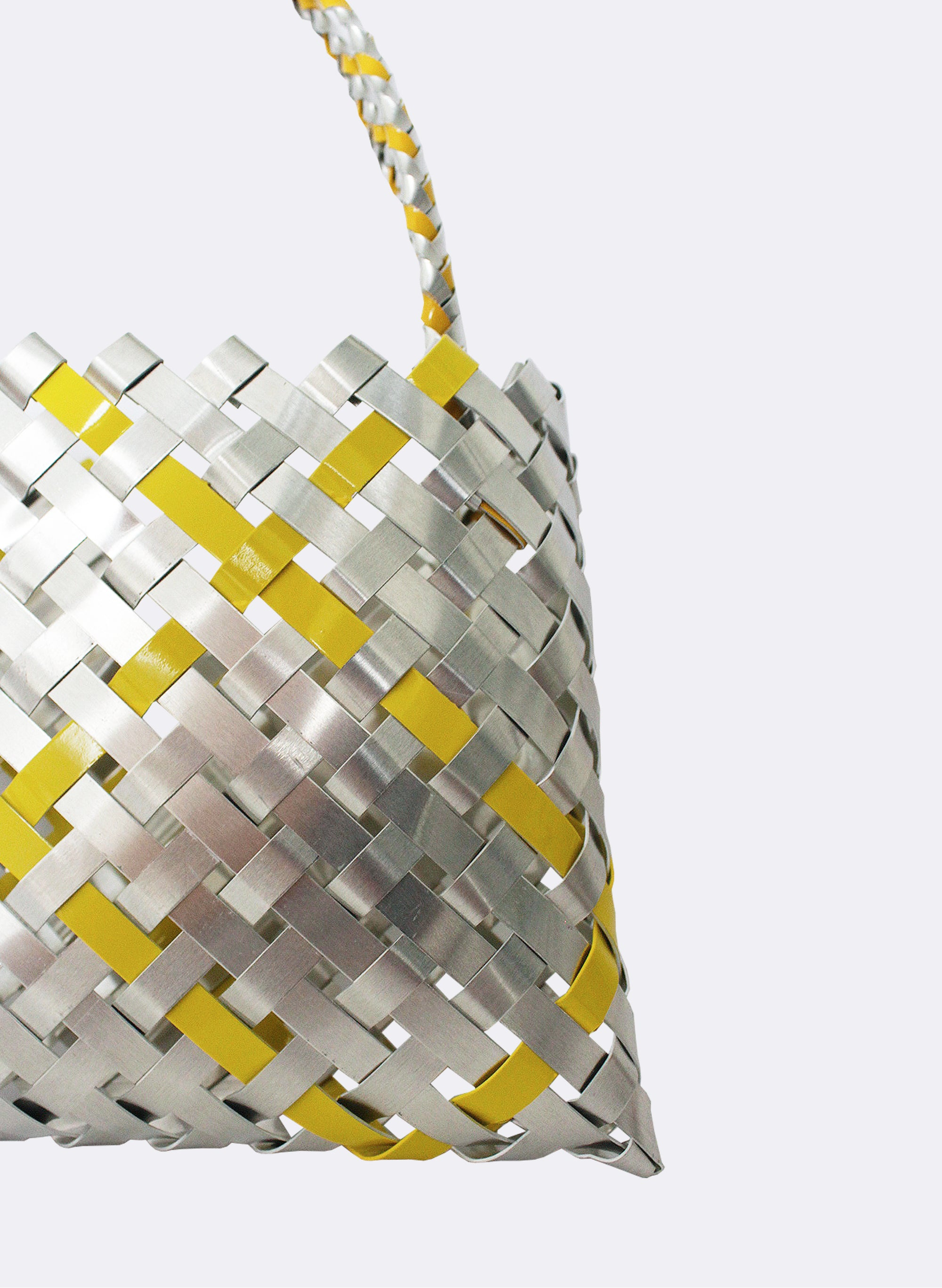 Aluminium And Yellow Kete (12 End)
