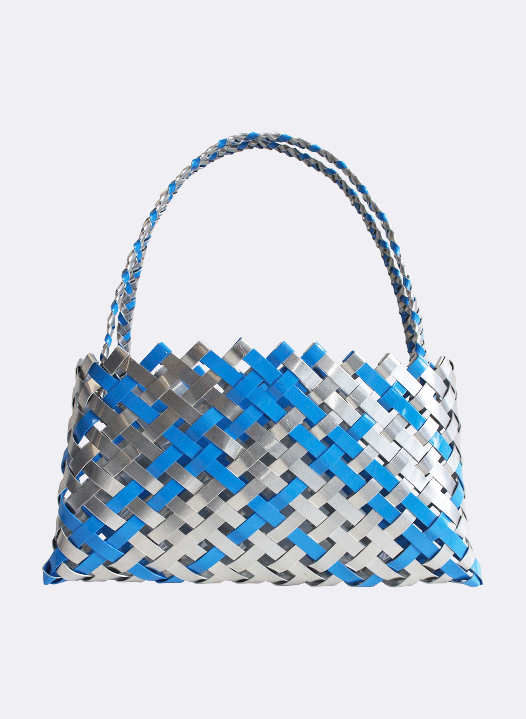 Aluminium And Blue Kete (12 End)