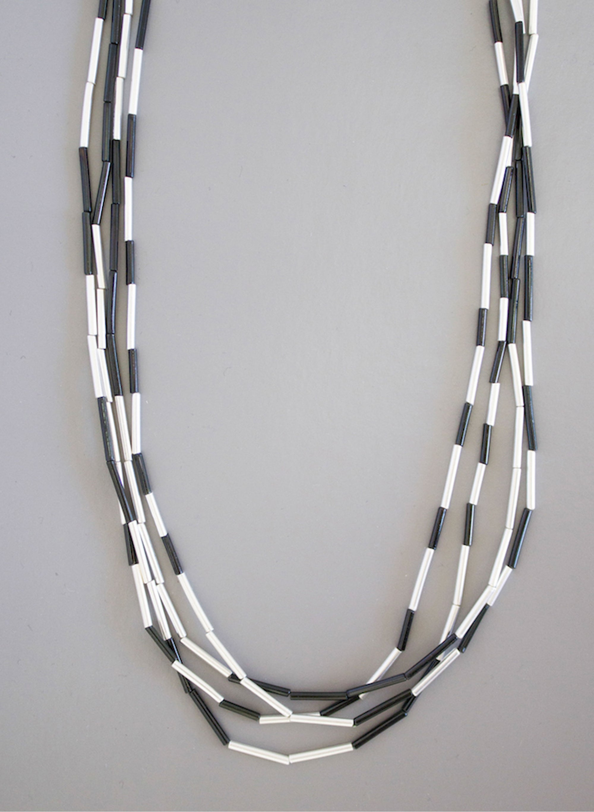 Long Piupiu Strand Necklace