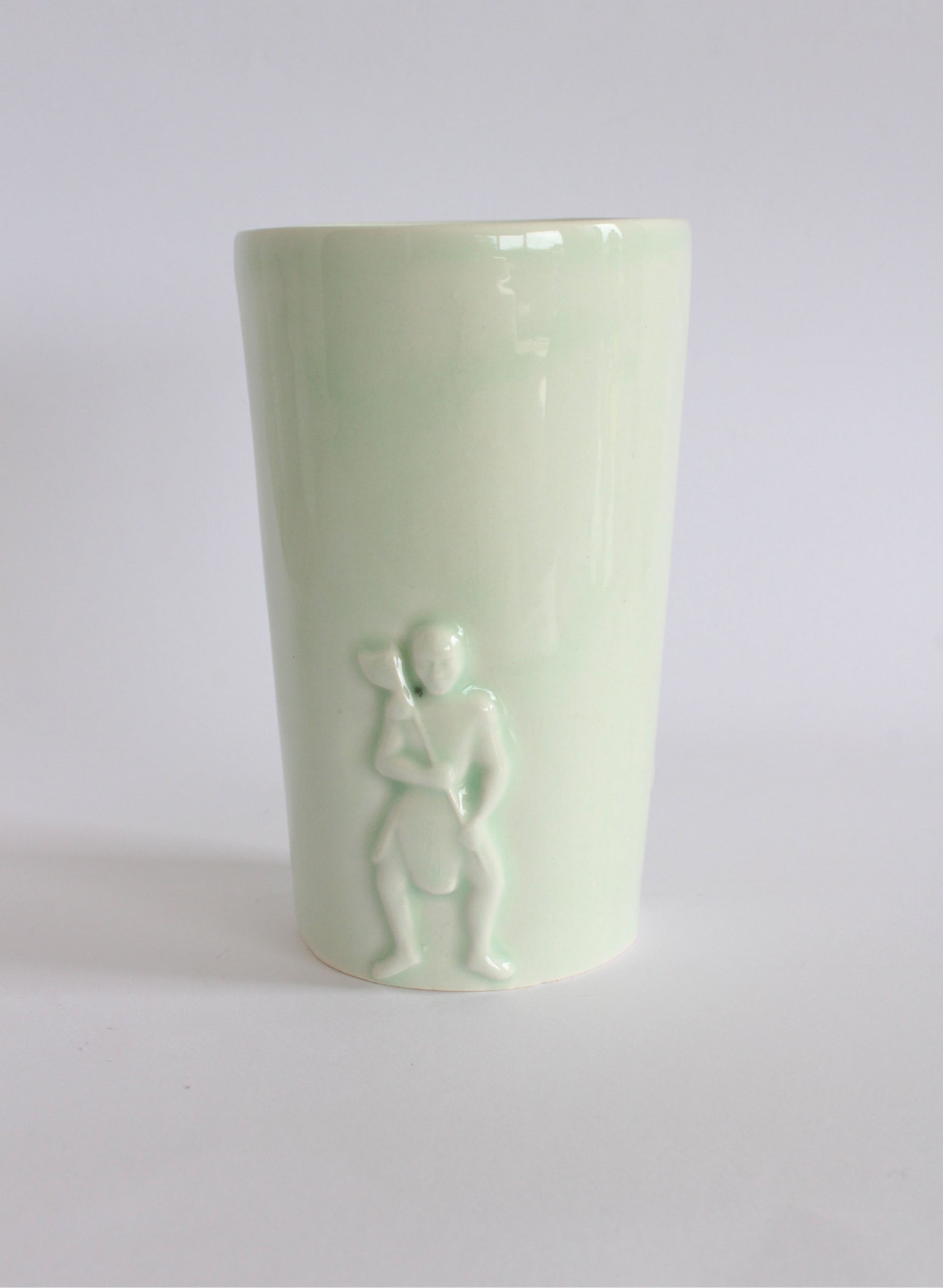 Mint Green Warrior / Poi Beaker