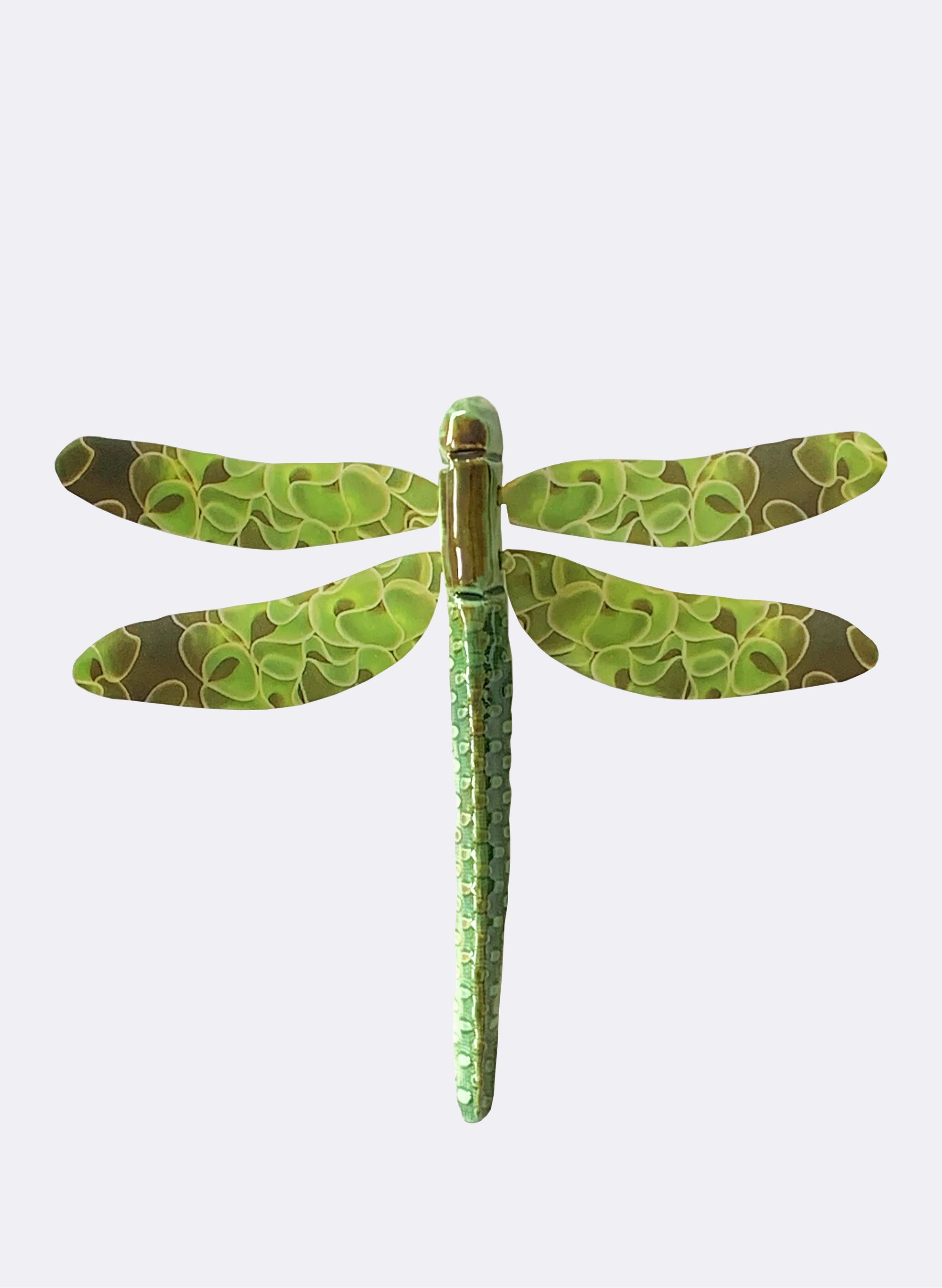 Ceramic Dragon Fly - Fungus