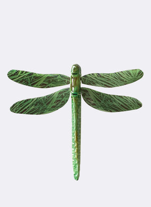 Ceramic Dragon Fly - Grass