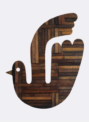 Wooden Bird - No.3