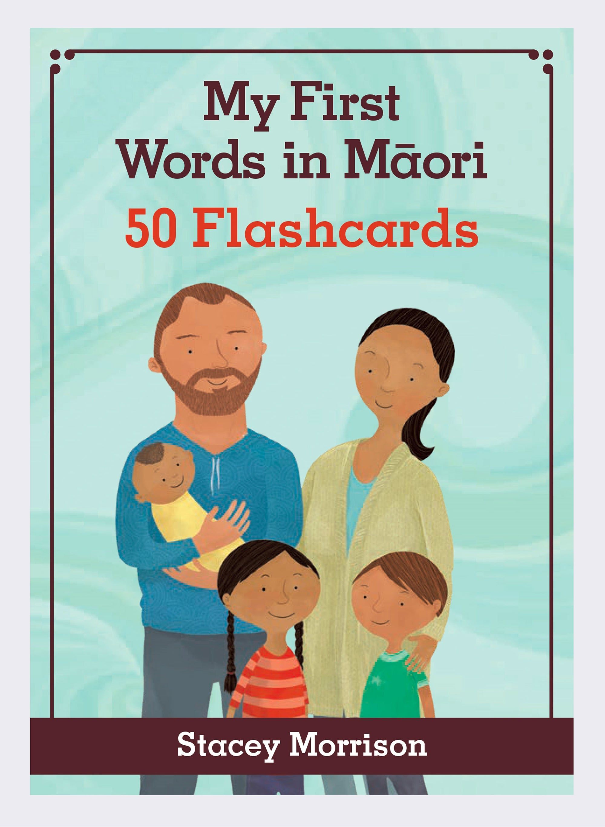 My First Words In Māori - (Flash Cards)