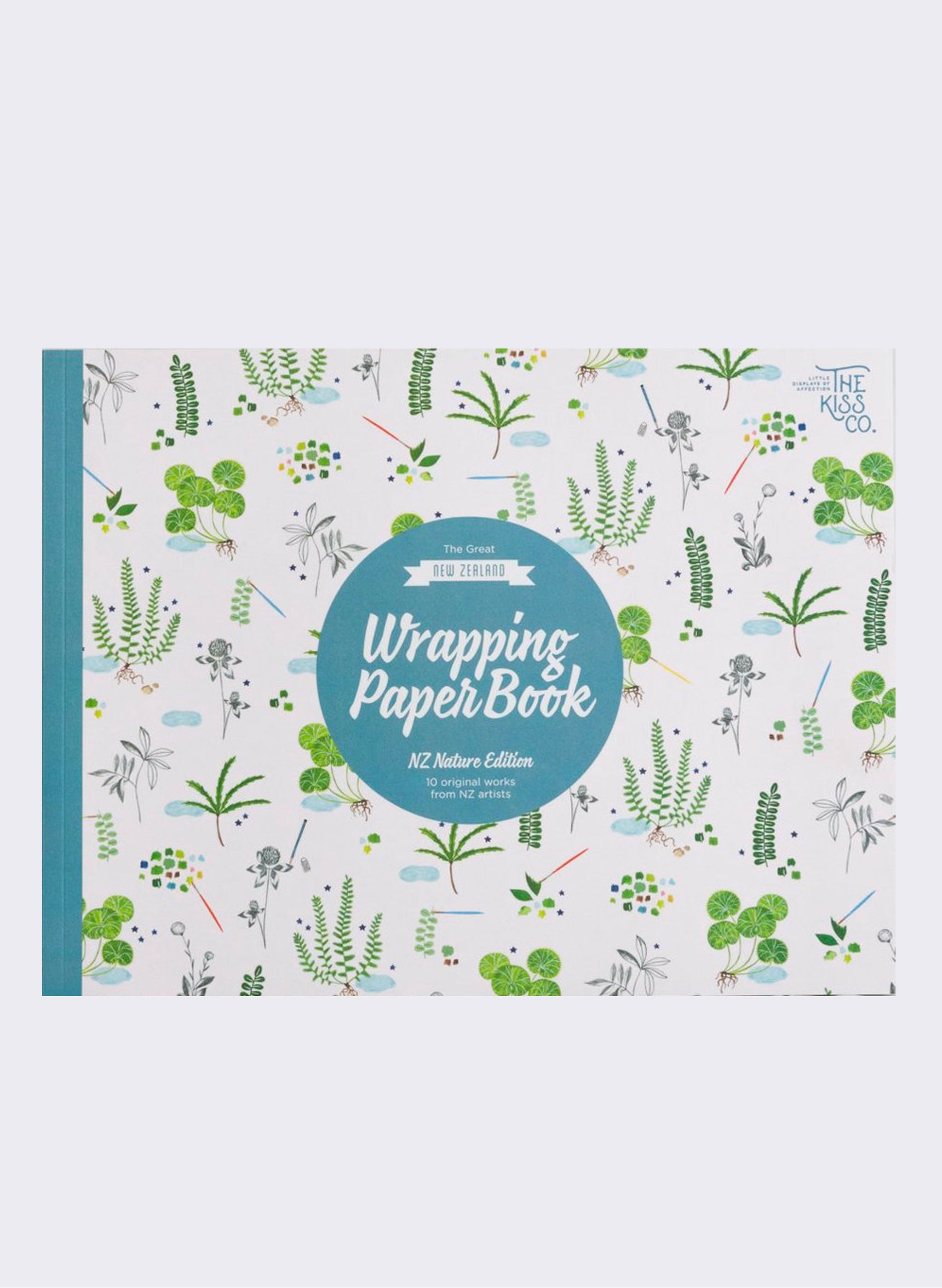 The Great NZ Wrapping Paper Book - Nature Edition