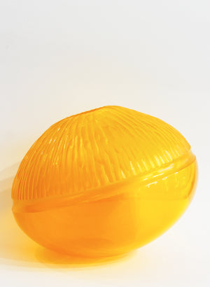 Saffron Carved Bowl