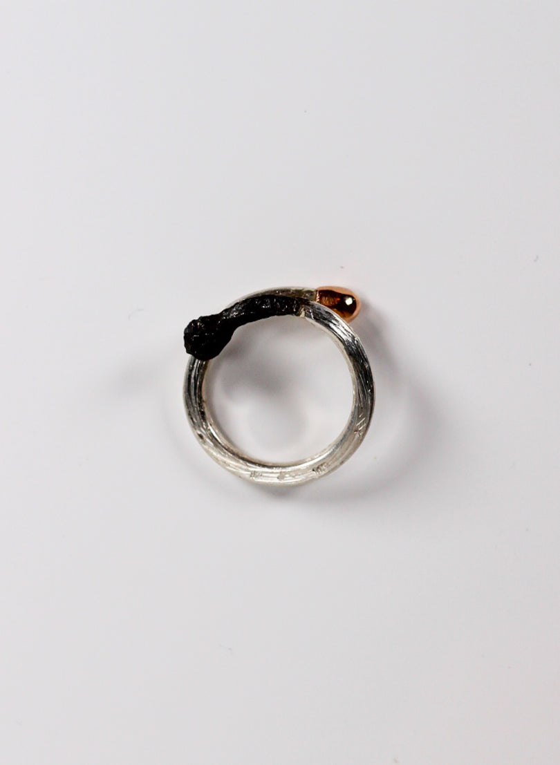 Burnt and Live Match Ring