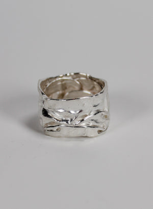 Crush Band Ring Silver - Medium