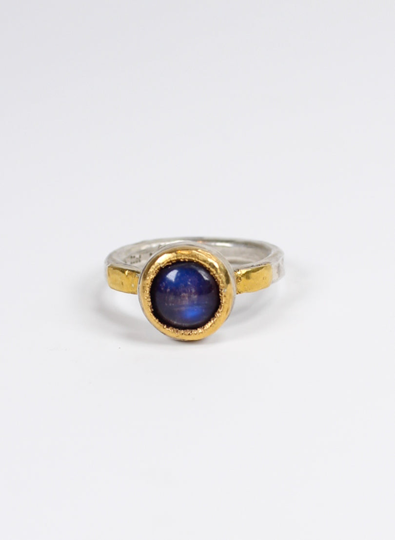 Moonstone and 22ct Gold Ring