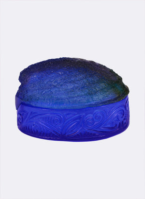 Paua Shell Box - Blue