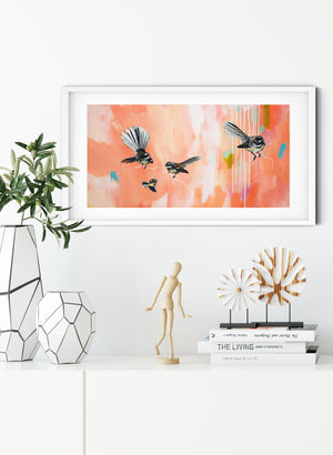 In The Pink - Giclée Print