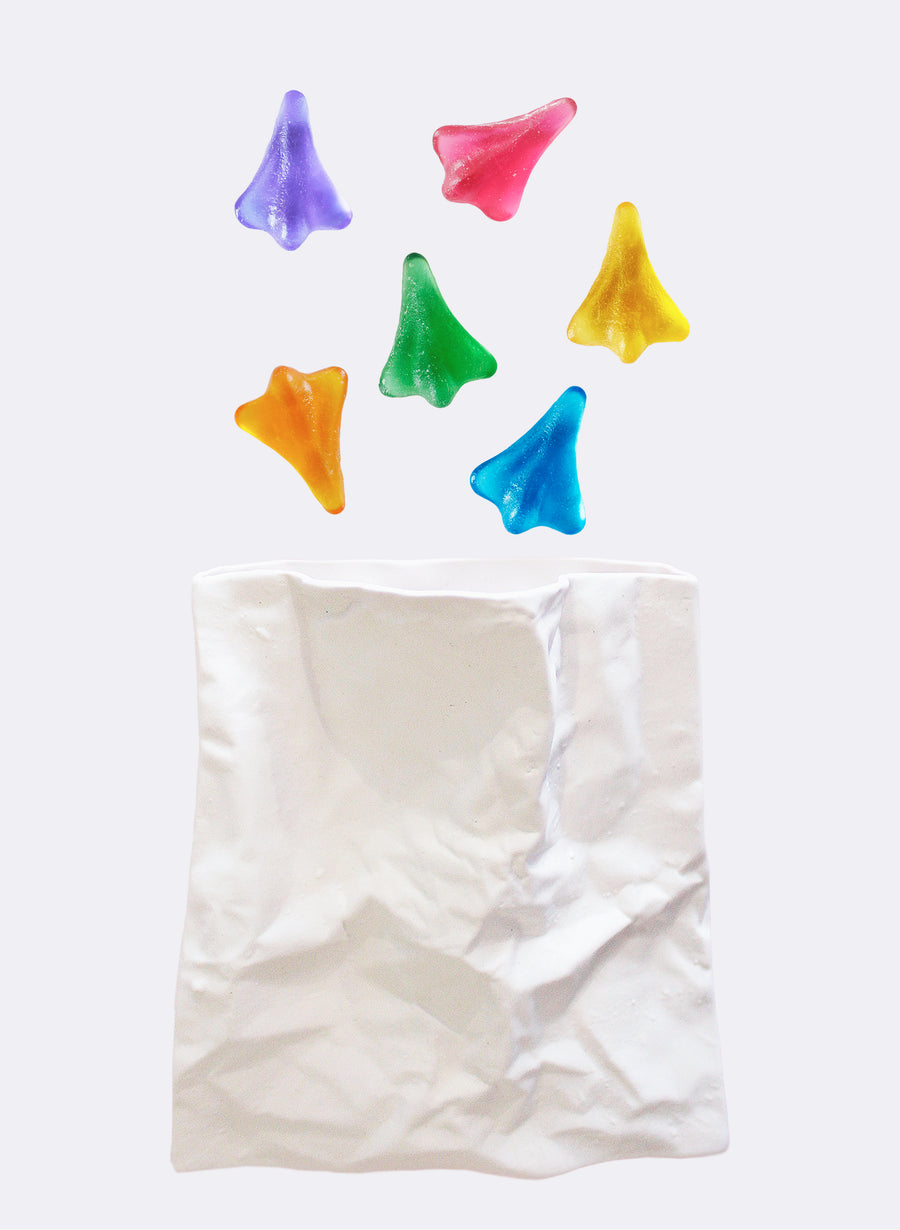Mini Cast Glass Jet Planes (16 x Colour Ways)