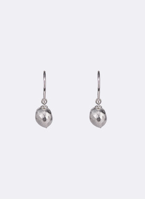 Cherry Fruit Vessel Earrings - Sterling Silver