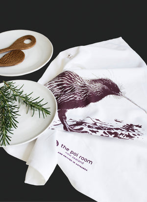 Native Kiwi Tea Towel