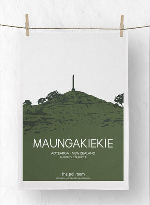 Maungakiekie Tea Towel