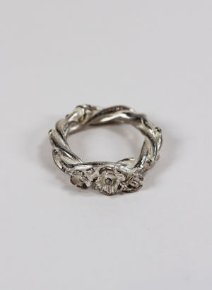 Twisted Vines Flower Ring
