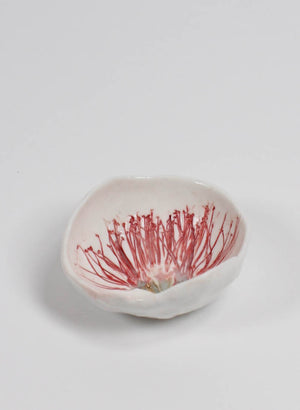Small Pohutukawa Pinch Bowl #8