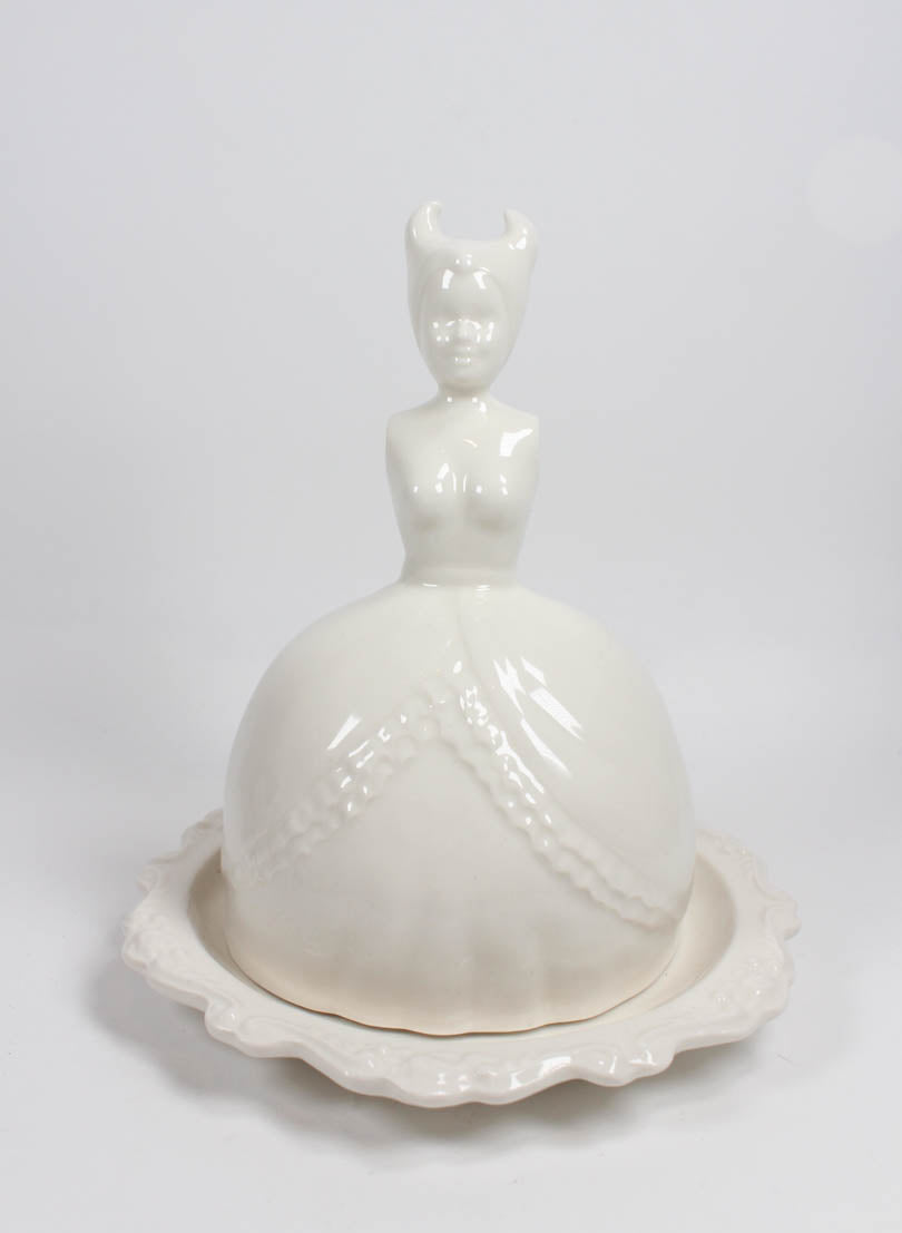 Butter Doll Dish