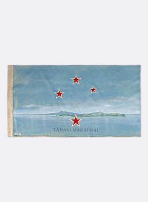Waiheke Island, Horizontal Flag - Navy Blue