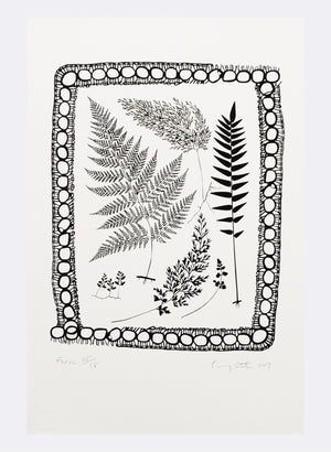 Fern - Screen Print