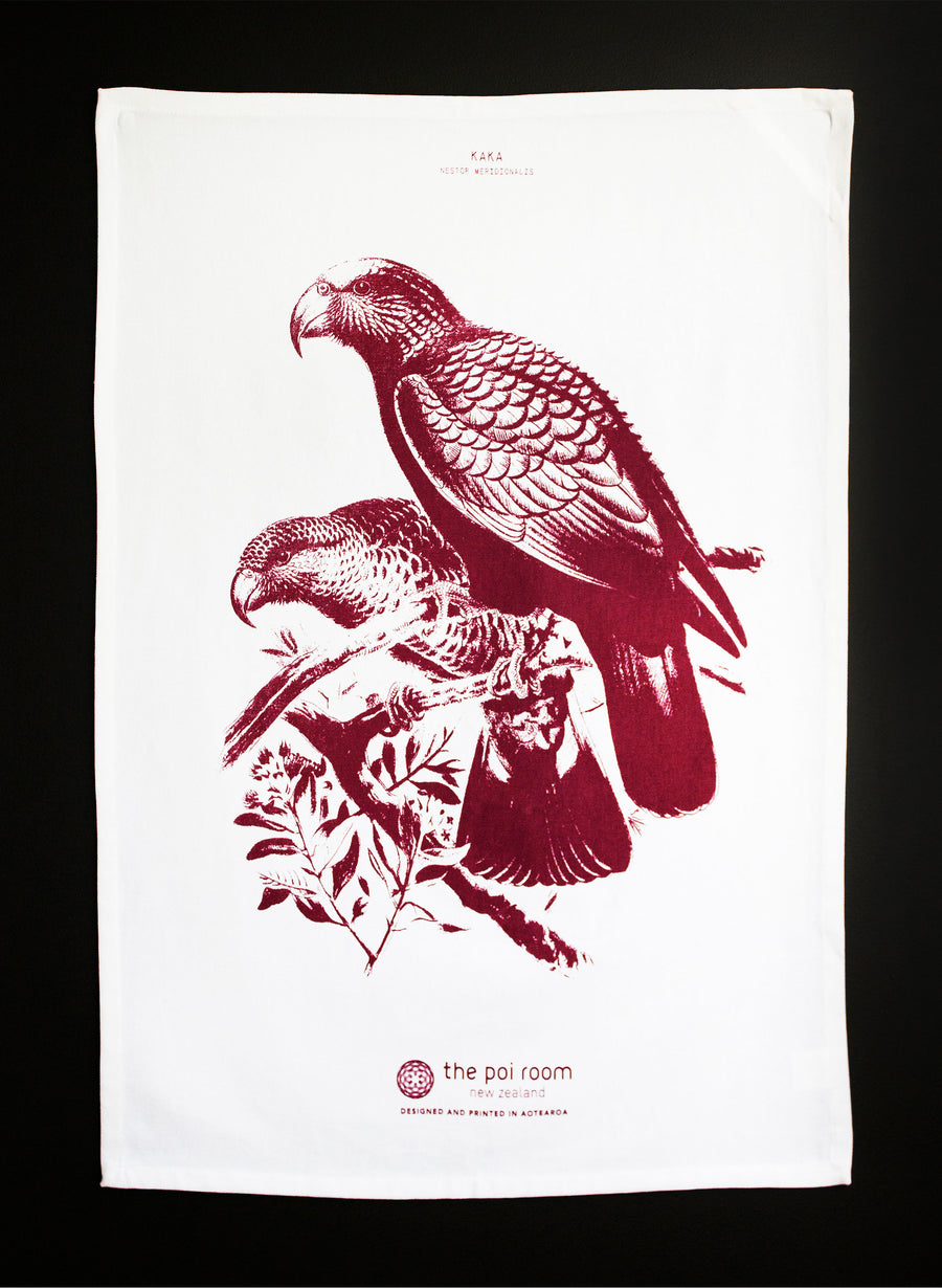 Native Kaka Tea Towel