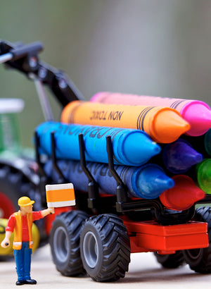 Sustainable Crayons