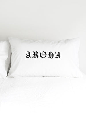 Aroha (Love) Pillowcase - Set of 2