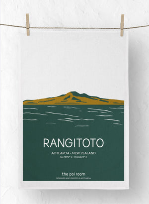 Rangitoto Tea Towel