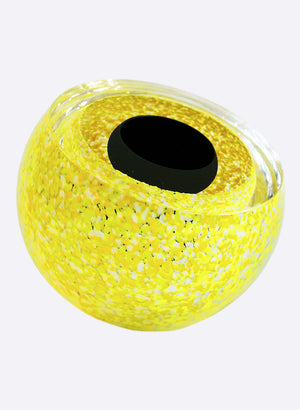 Double Bubble - Speckled Black & Yellow