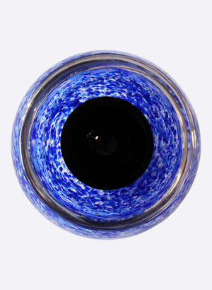 Double Bubble - Speckled Black & Blue