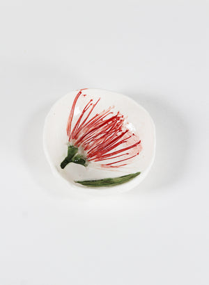 Small Pohutukawa Pinch Bowl