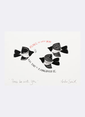 Peace Be With You - Giclée Print