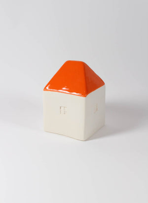 Small Orange Colour Roofed House