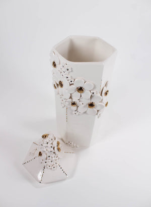 Hexagonal Flower Vase #5