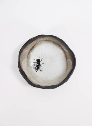 Large Single Bee Pinch Bowl #36