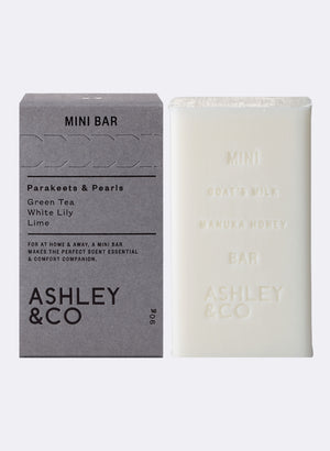 Mini Bar Soap - Parakeets & Pearls