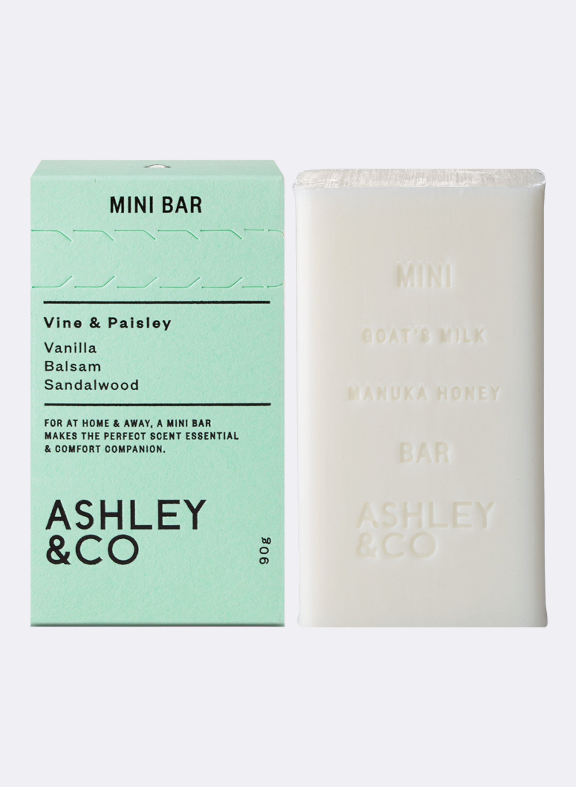 Mini Bar Soap - Vine & Paisley