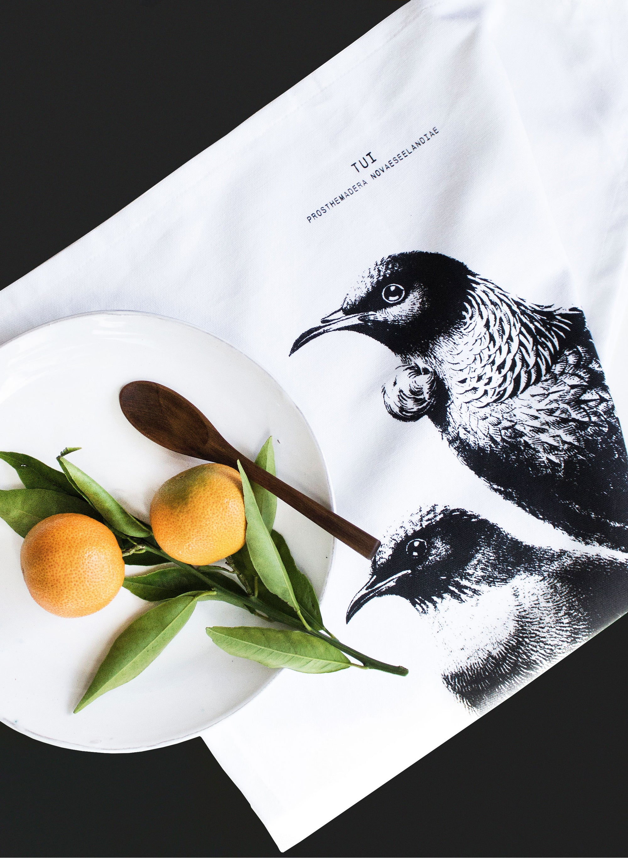 Native Tui Tea Towel