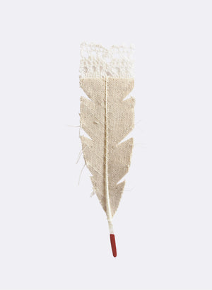 Huia Feather Brooch No.4
