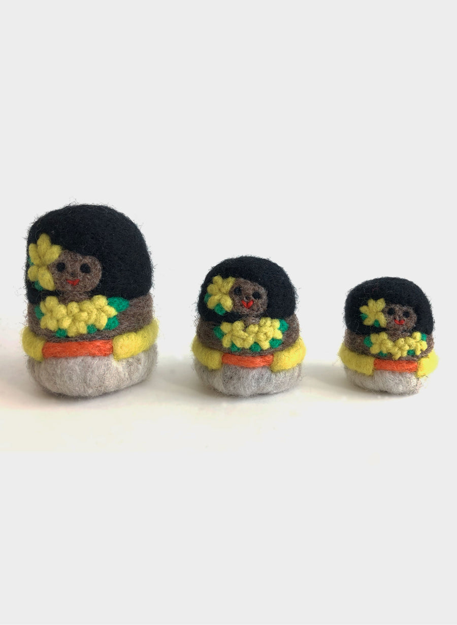 Pacific Dolls - Set of 3