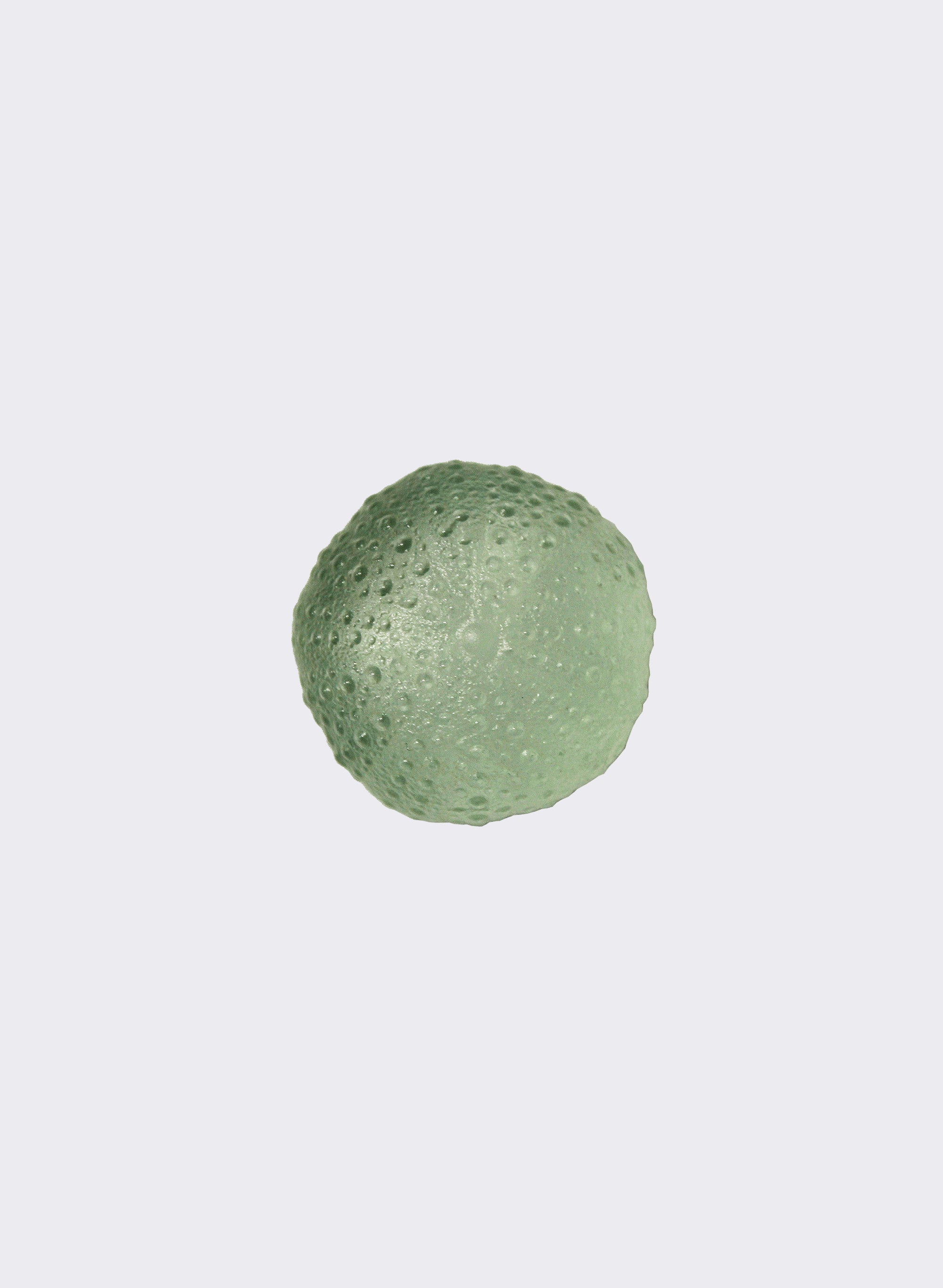 Large Sea Urchin - Pale Olive