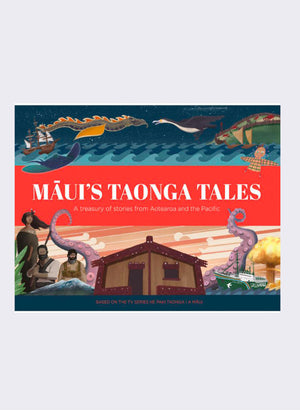 Maui's Taonga Tales by David Brechin-Smith