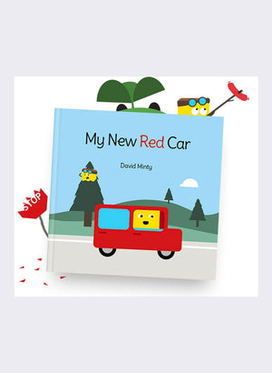 My New Red Car by David Minty