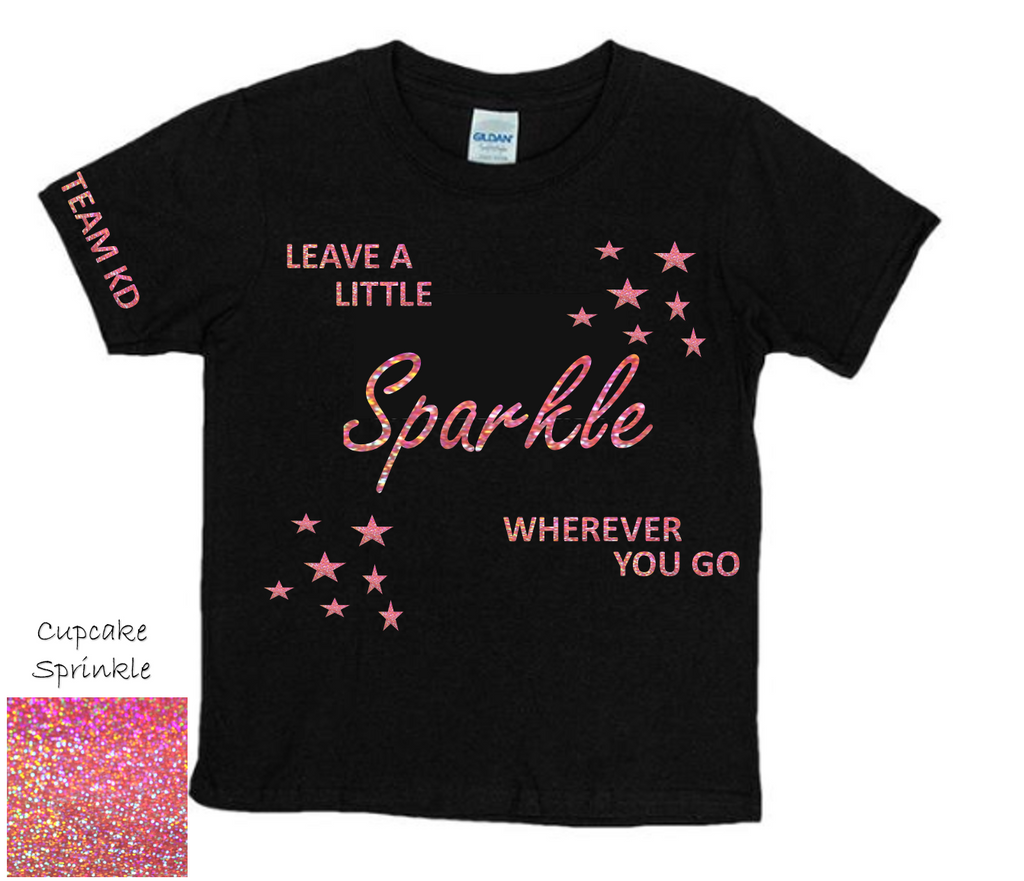Leave A Little Sparkle Personalised T-Shirts