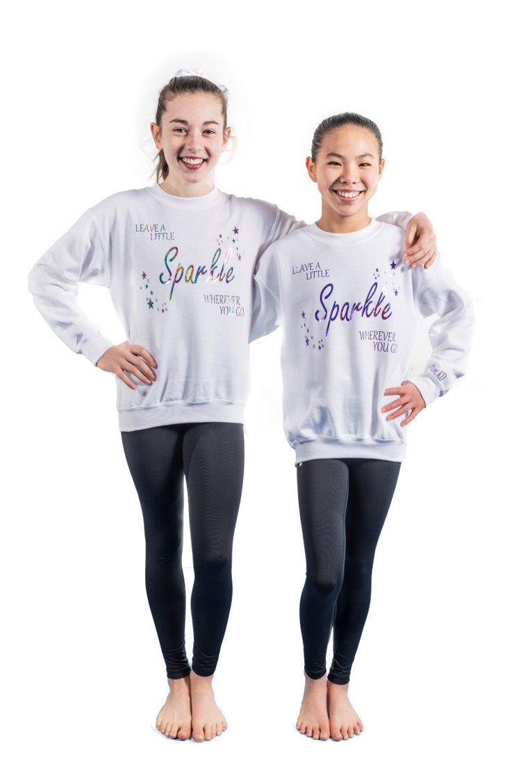 Leave A Little Sparkle Personalised Sweatshirt
